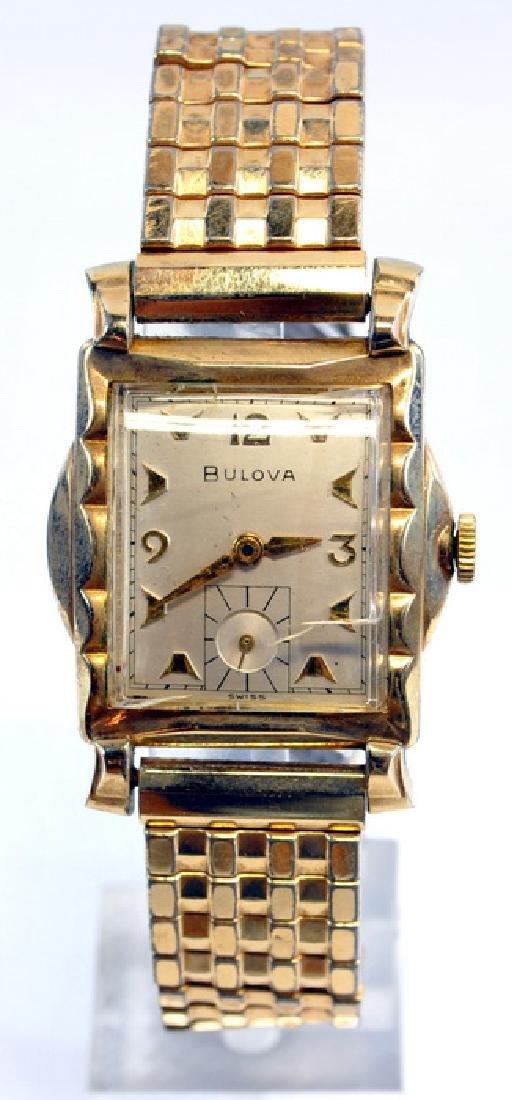 Frank Sinatra Gold Filled Bulova Wrist Watch