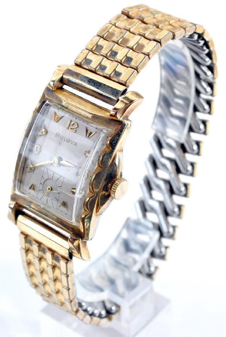 Frank Sinatra Gold Filled Bulova Wrist Watch - 2