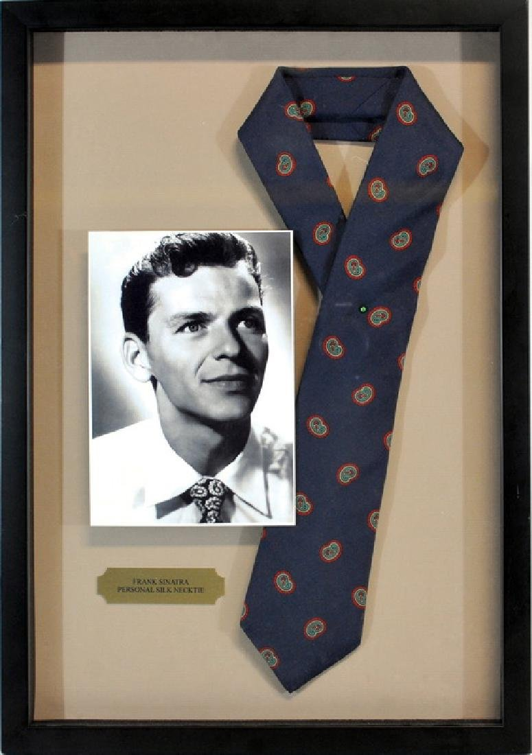Frank Sinatra Personally Owned Silk Necktie