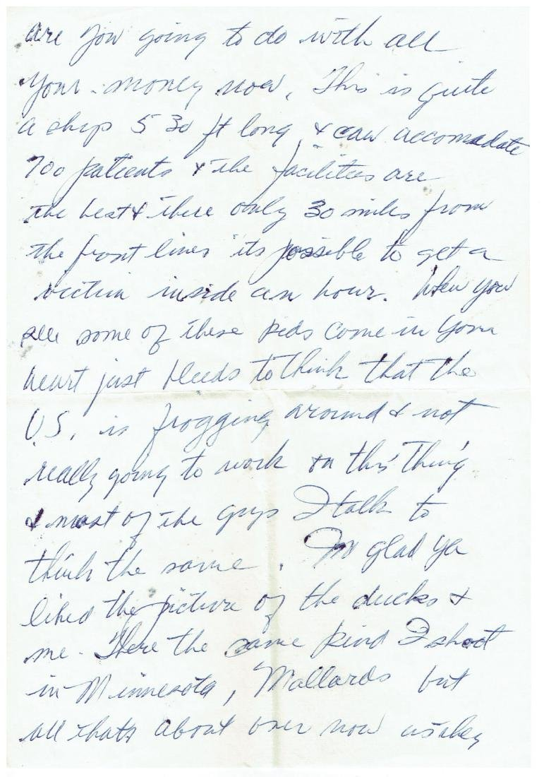 March 27 1953 Letter Written By Ted Williams - 3