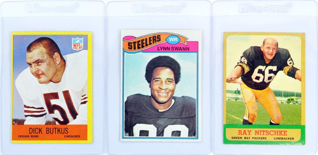 10 Card Hall Of Fame Football Collection - 3
