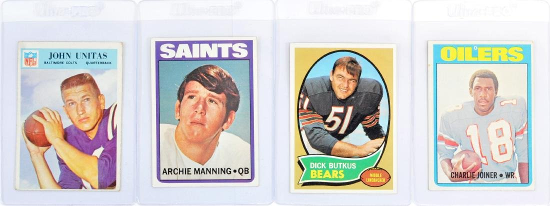 10 Card Hall Of Fame Football Collection - 5