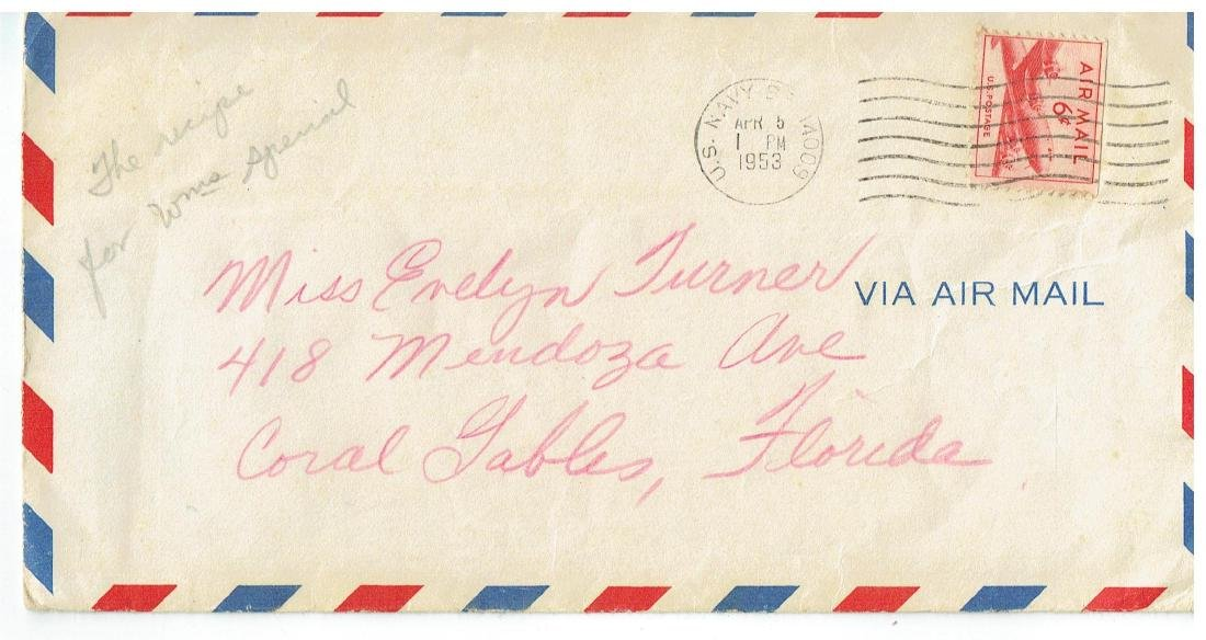 April 4 1953 Letter Written By Ted Williams - 3