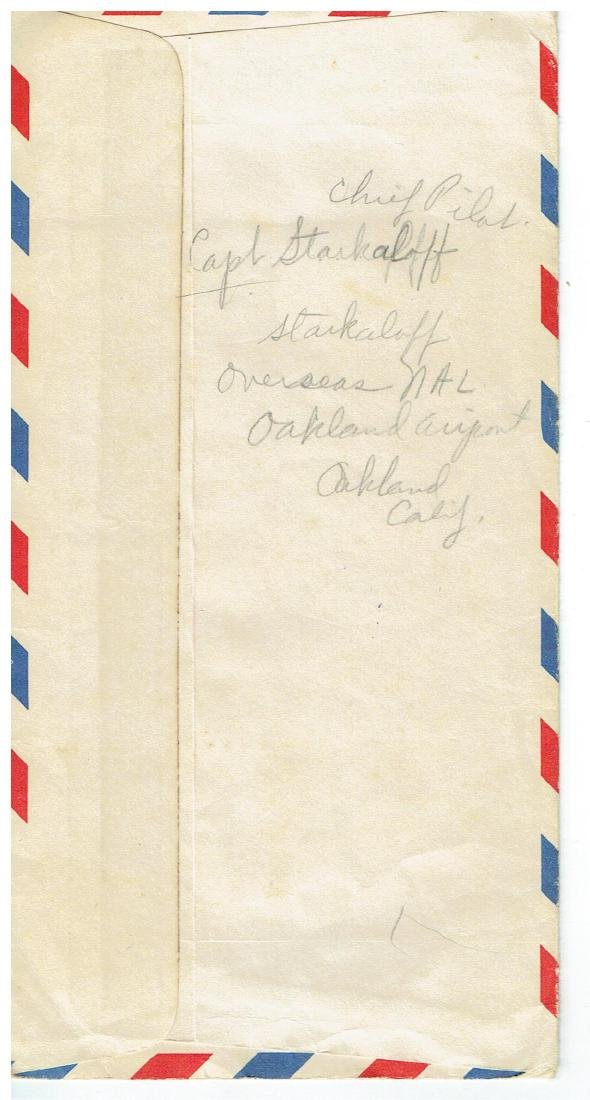 April 4 1953 Letter Written By Ted Williams - 4