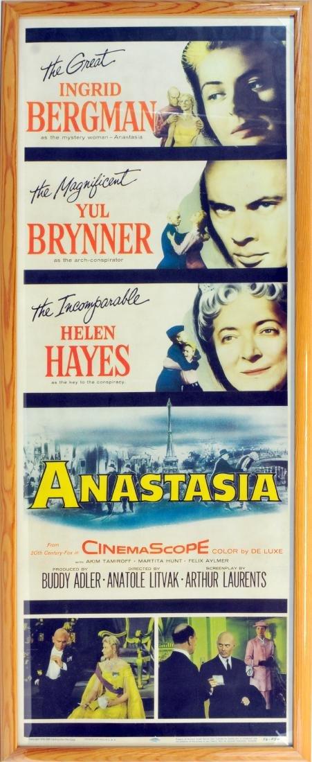 1956 Anastasia Movie Poster