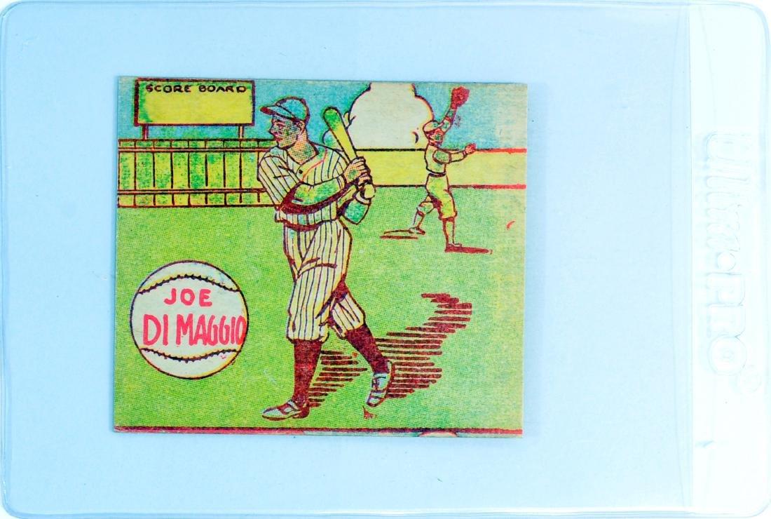 1943 Joe DiMaggio R302-1 Hand Cut