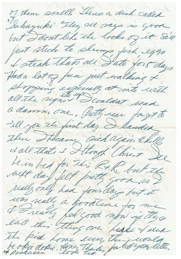 April 21 1953 Letter Written By Ted Williams - 2