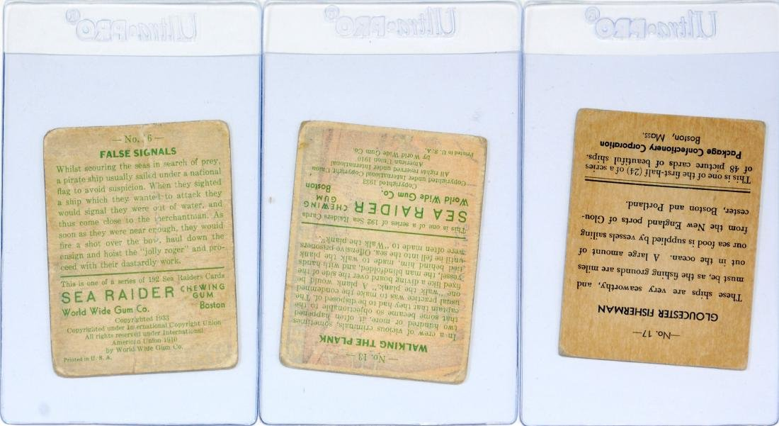 Estate Gum Card Collection Sea Raiders/Indian - 2