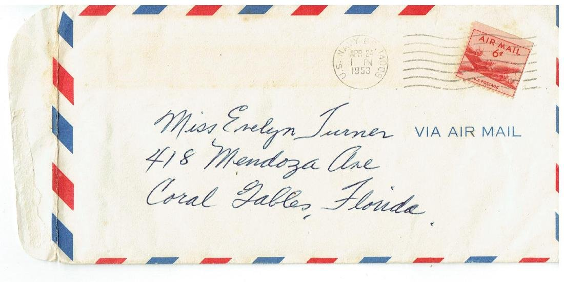 April 24 1953 Letter Written By Ted Williams - 2