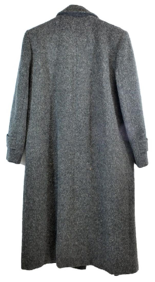 Frank Sinatra Gray Wool Overcoat - 2