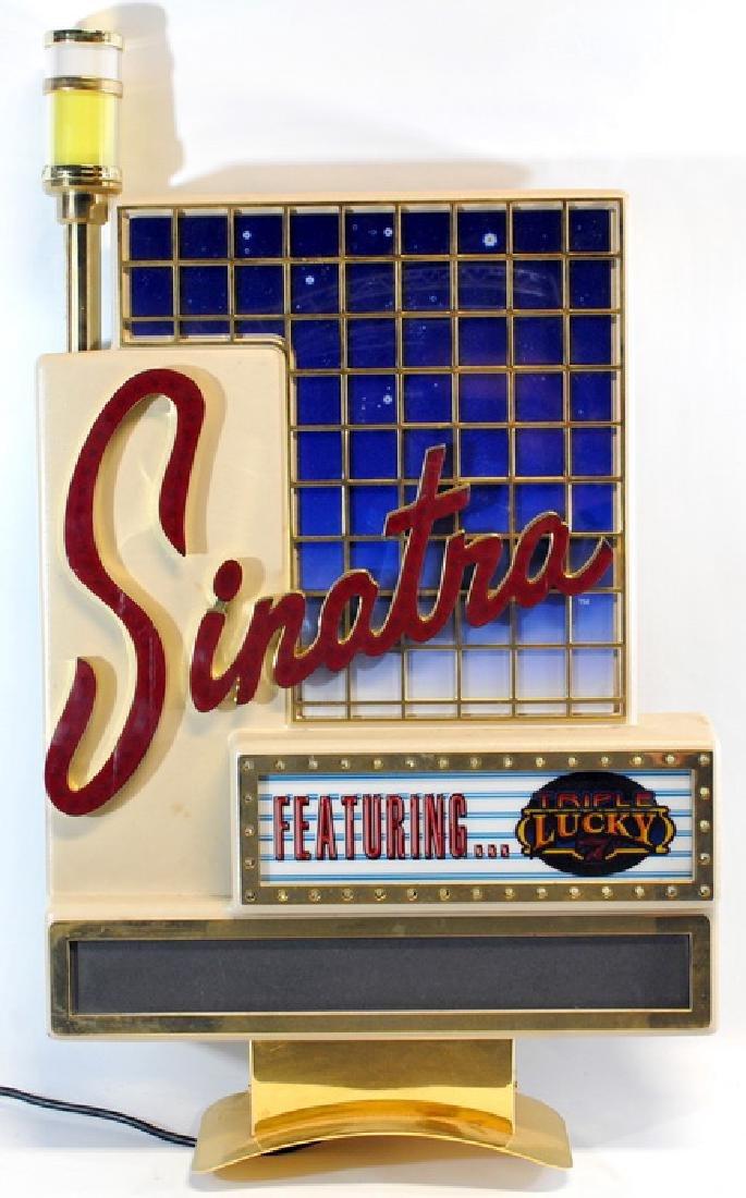 Frank Sinatra Slot Machine Topper