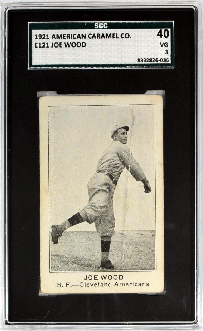 1921 American Caramel Joe Wood