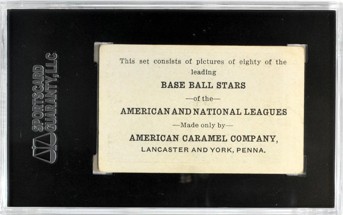 1921 American Caramel Joe Wood - 2