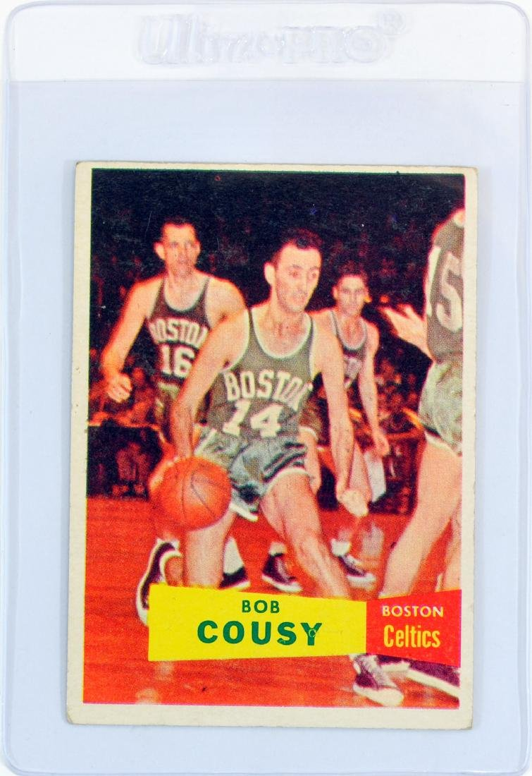 1957 Topps Bob Cousy Rookie Card