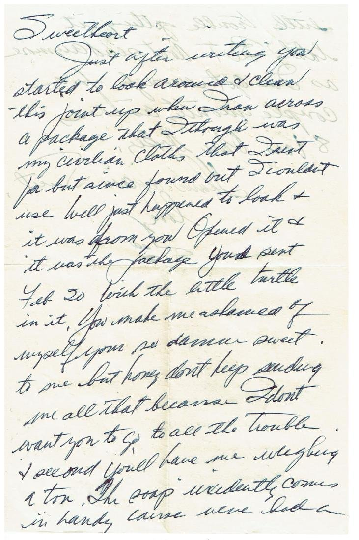 June 6 1953 Letter Written By Ted Williams
