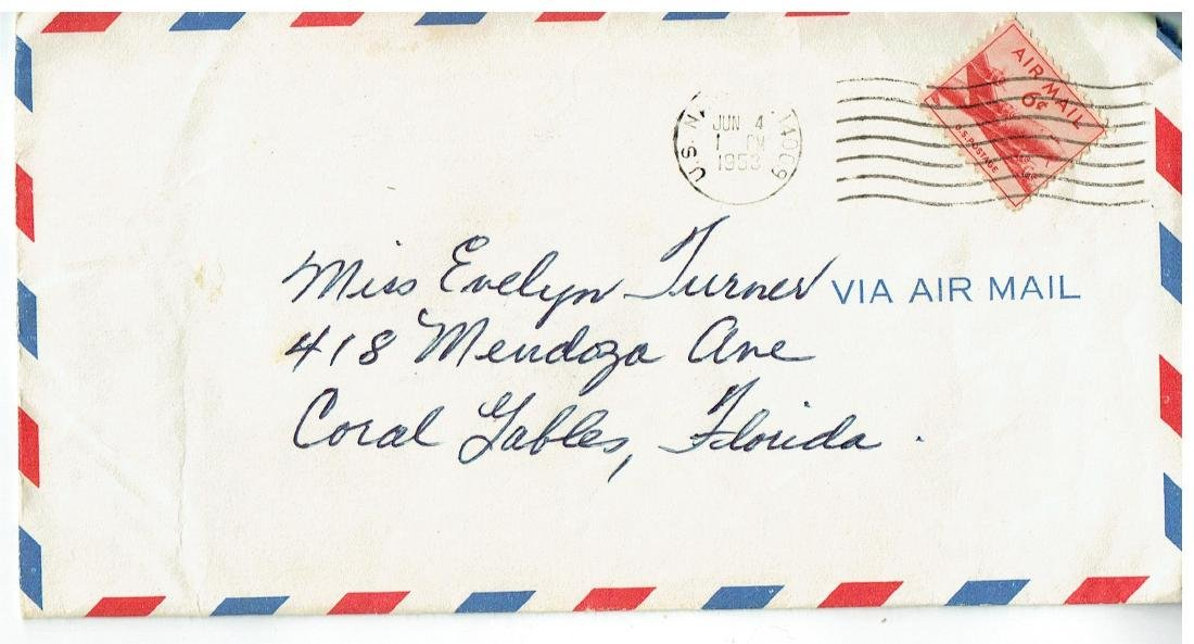 June 6 1953 Letter Written By Ted Williams - 3