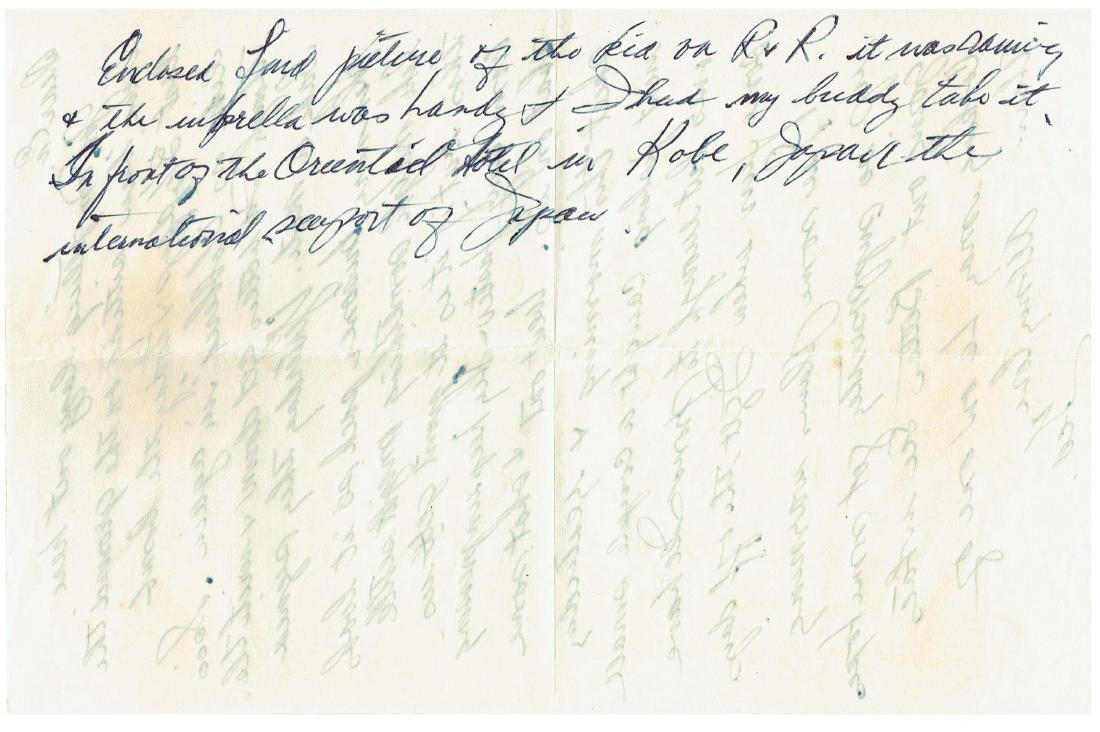 June 12 1953 Letter Written By Ted Williams - 2