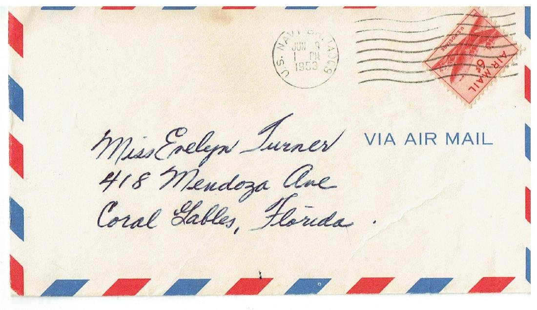 June 12 1953 Letter Written By Ted Williams - 3