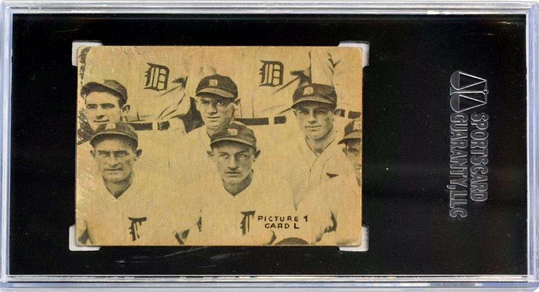 2 1935 Goudey 4 In 1 Cards Graded - 4