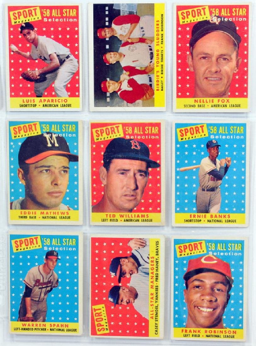 29 1958 Topps Baseball Hall Of Famers - 3