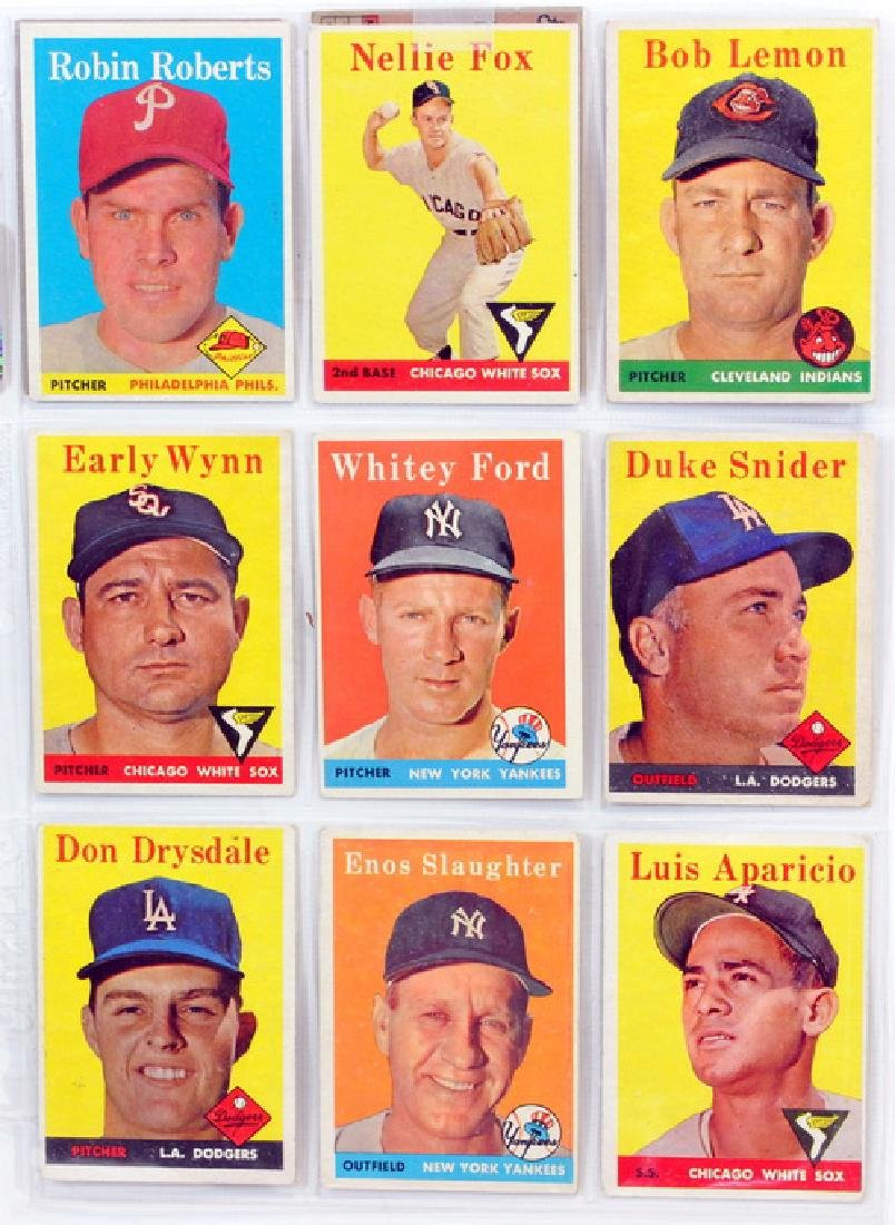 29 1958 Topps Baseball Hall Of Famers - 5