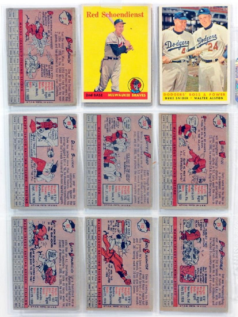 29 1958 Topps Baseball Hall Of Famers - 6