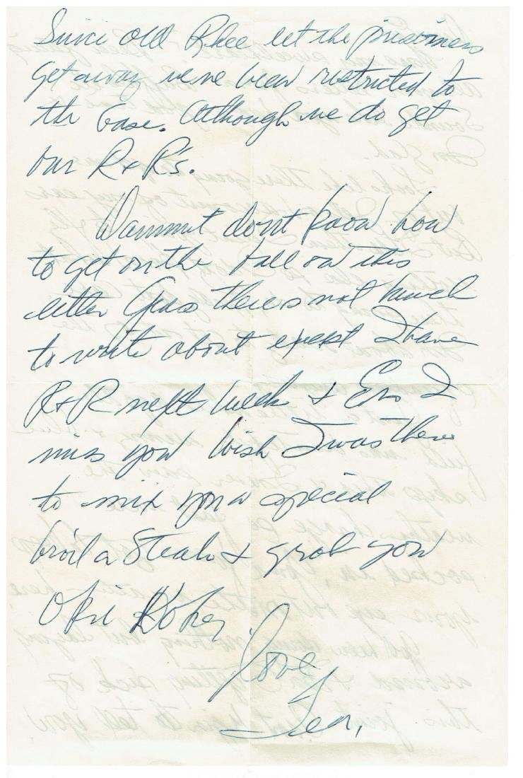 June 26 1953 Letter Written By Ted Williams - 2
