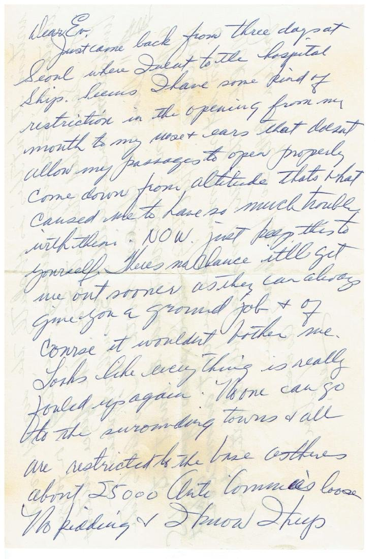 June 26 1953 Letter Written By Ted Williams - 4