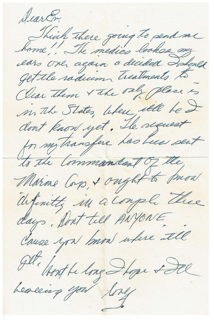 June 26 1953 Letter Written By Ted Williams - 7