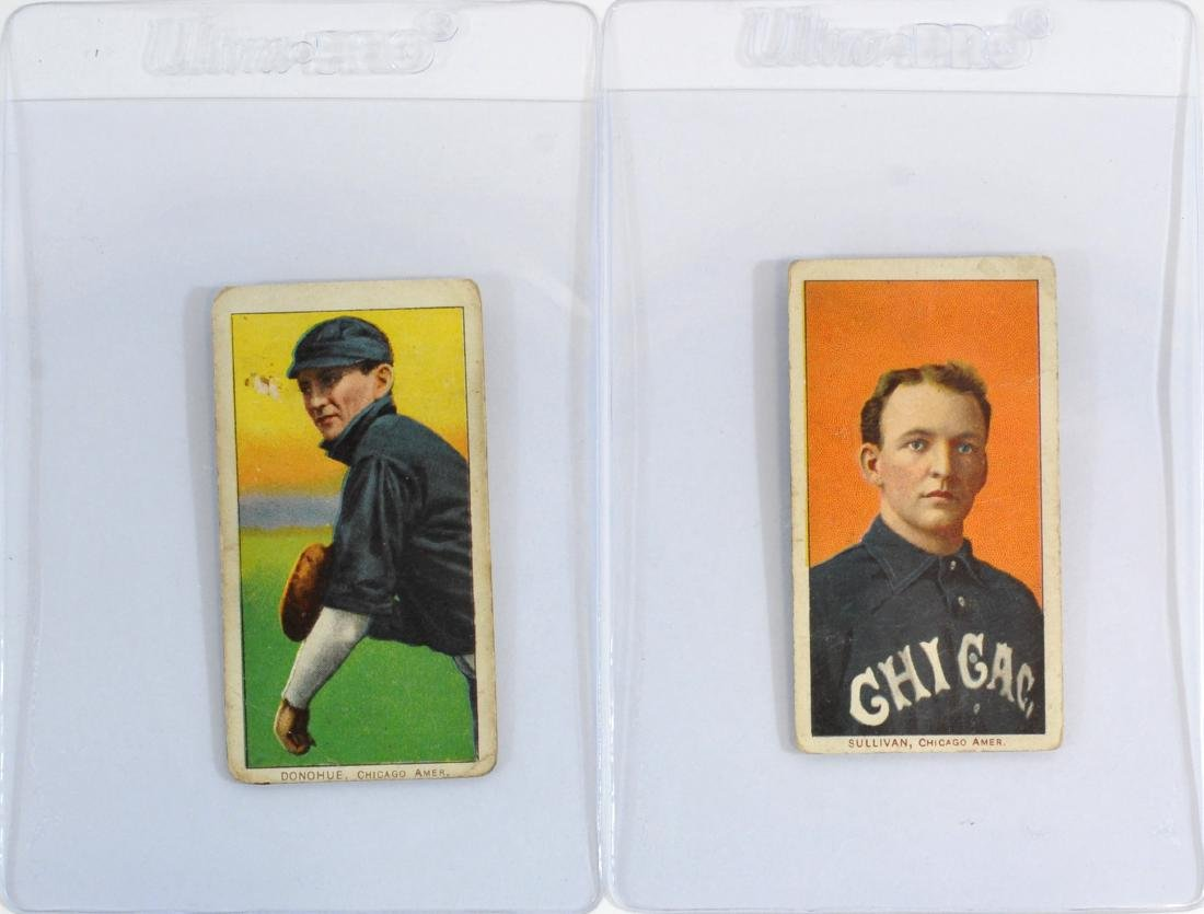 5 1909-11 T206 Cards George Davis/others - 3