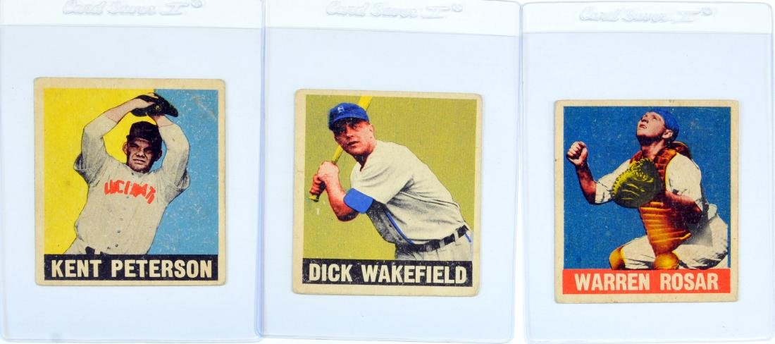 20 1948 Leaf Baseball Cards