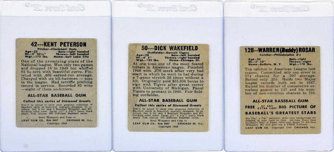 20 1948 Leaf Baseball Cards - 2