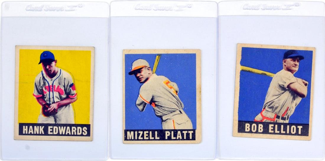 20 1948 Leaf Baseball Cards - 3