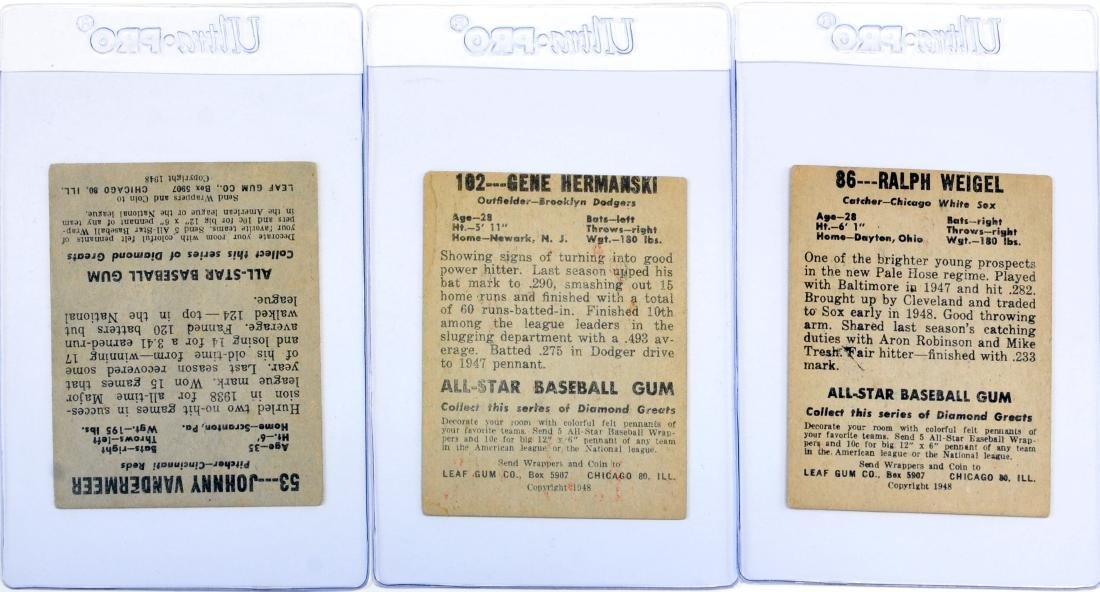 20 1948 Leaf Baseball Cards - 6
