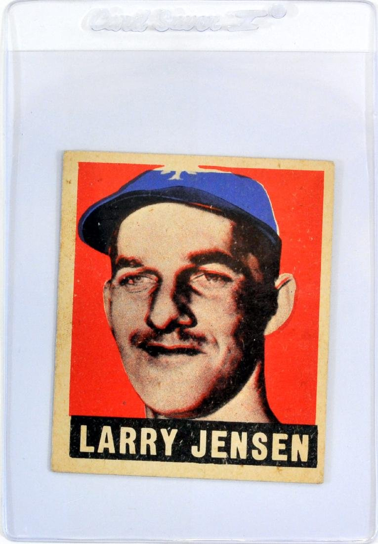 7 1948 Leaf Baseball Cards In Nice Shape - 5