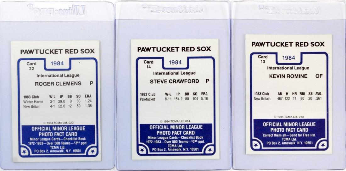 1984 Pawtucket Red Sox Team Set - 2