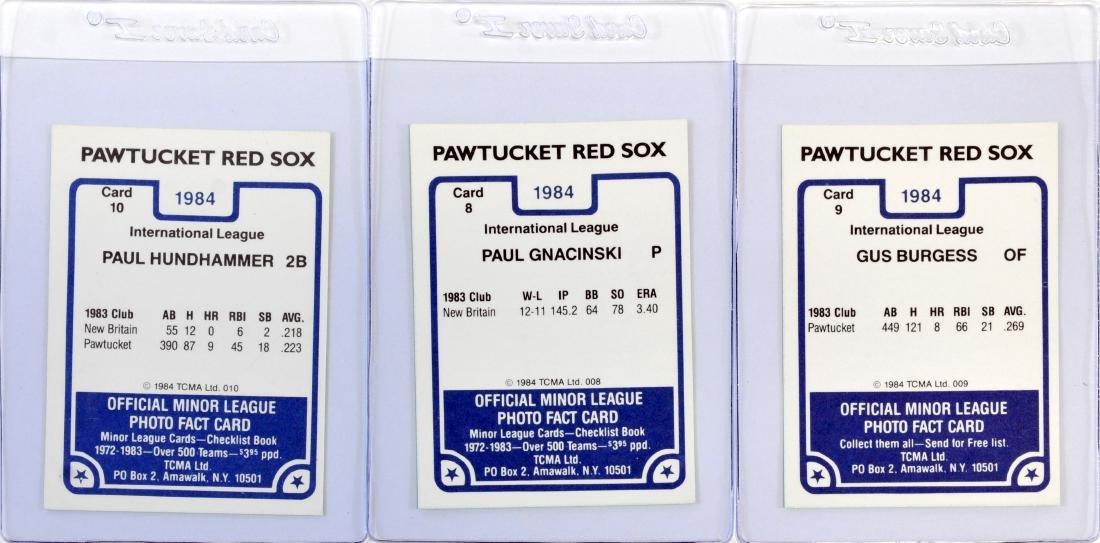 1984 Pawtucket Red Sox Team Set - 6
