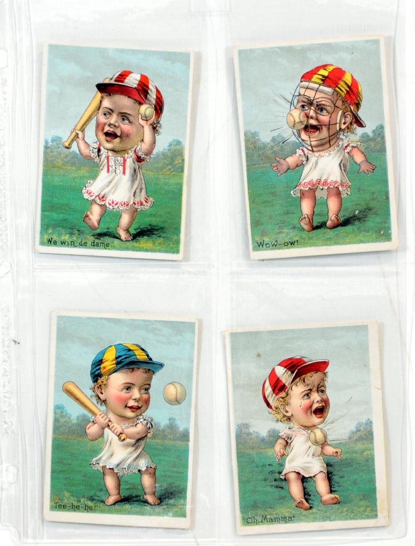 10 1887  Baseball Trade Cards