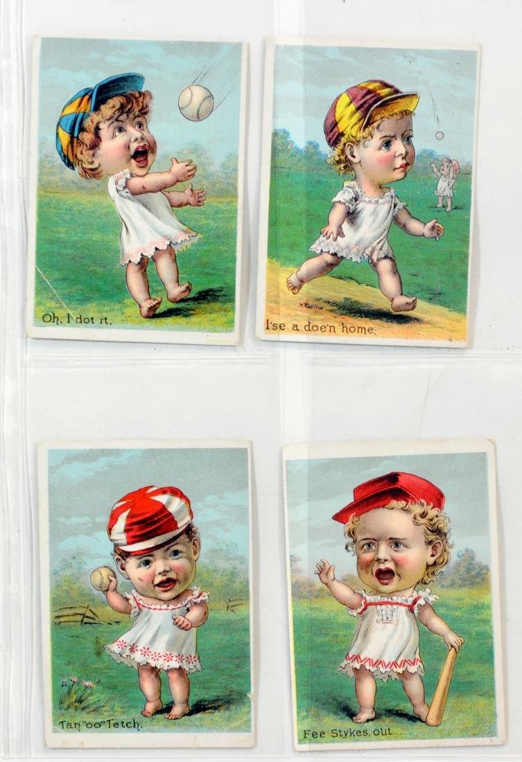 10 1887  Baseball Trade Cards - 3
