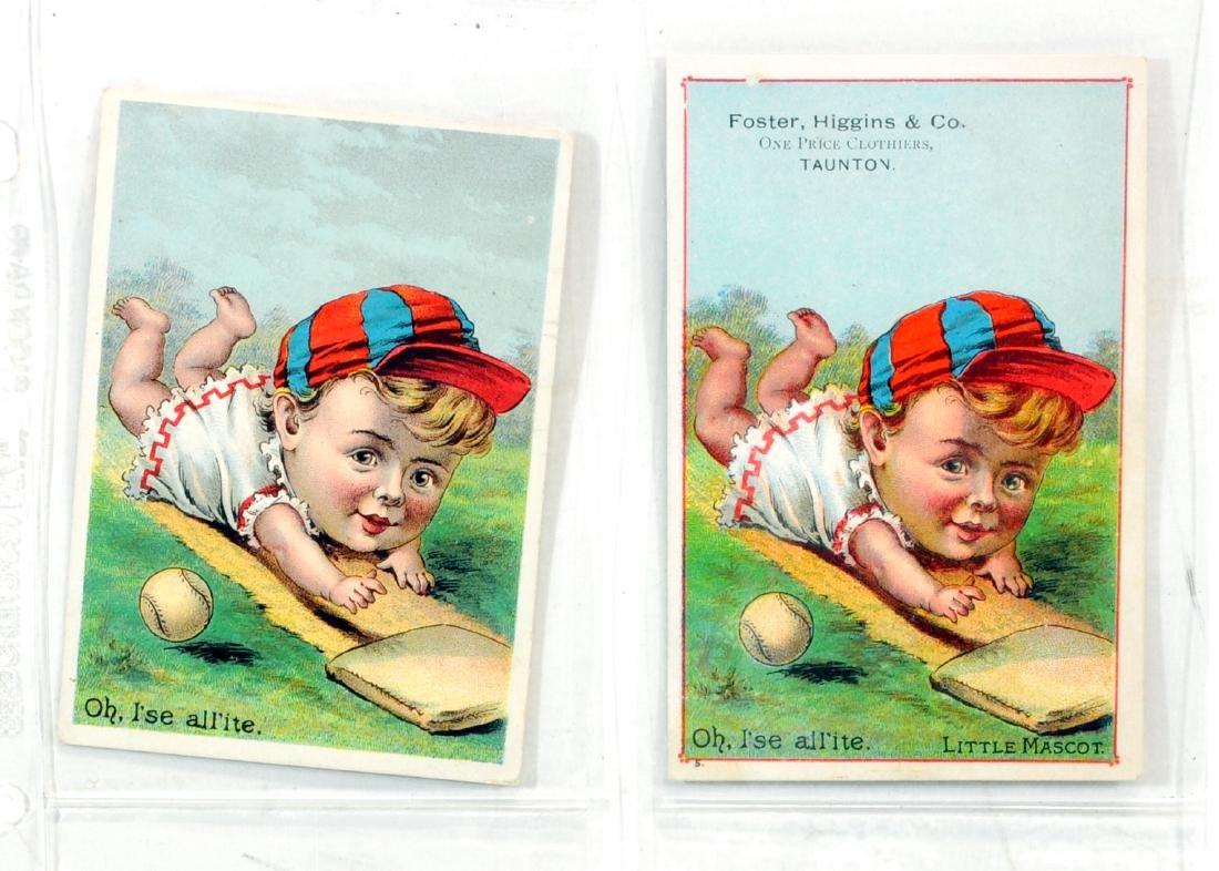 10 1887  Baseball Trade Cards - 5