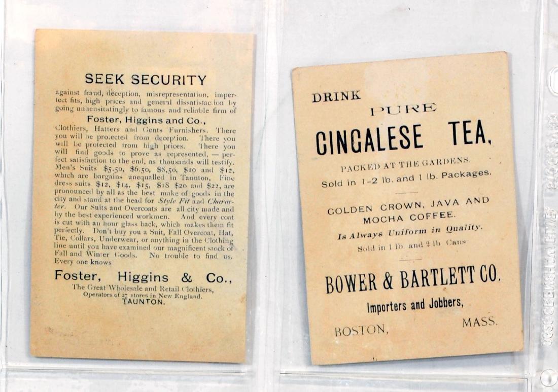 10 1887  Baseball Trade Cards - 6