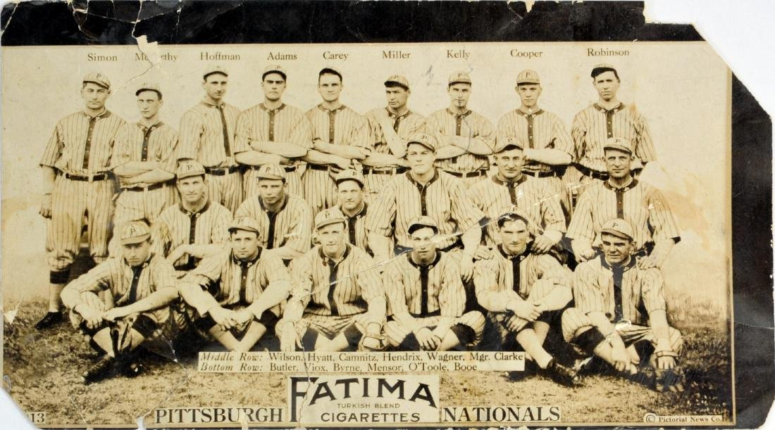 Fatima Baseball Card Pittsburgh Nationals