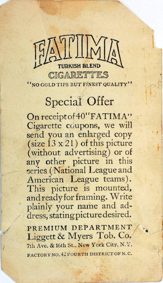 Fatima Baseball Card Pittsburgh Nationals - 2
