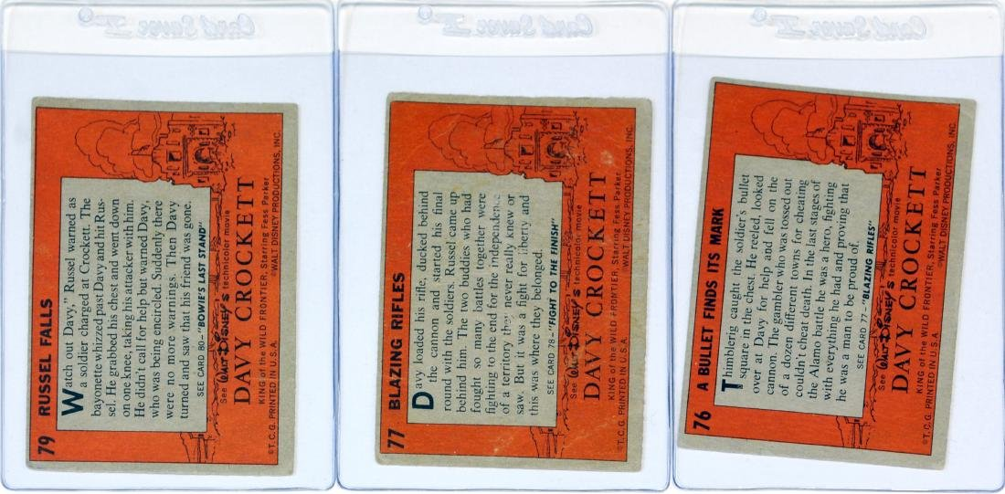 Complete Set Of 80 1956 Topps Davy Crockett - 2