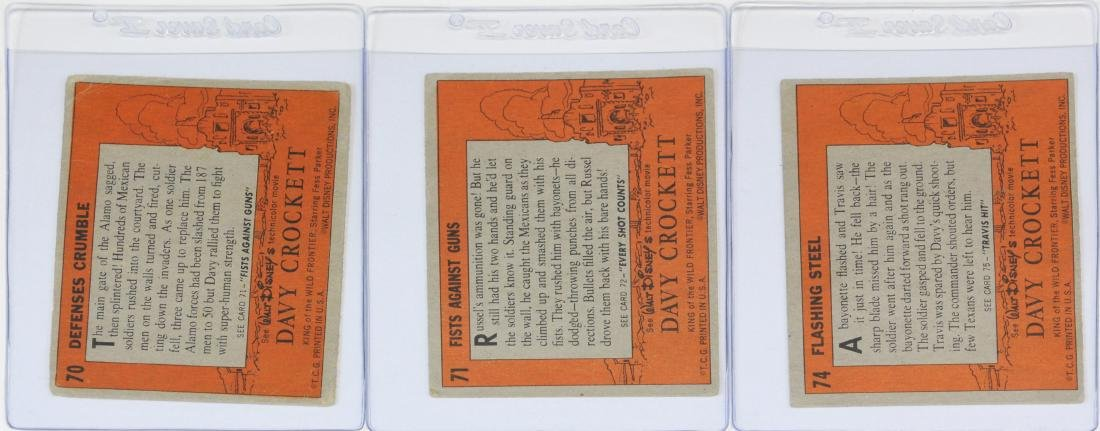 Complete Set Of 80 1956 Topps Davy Crockett - 4