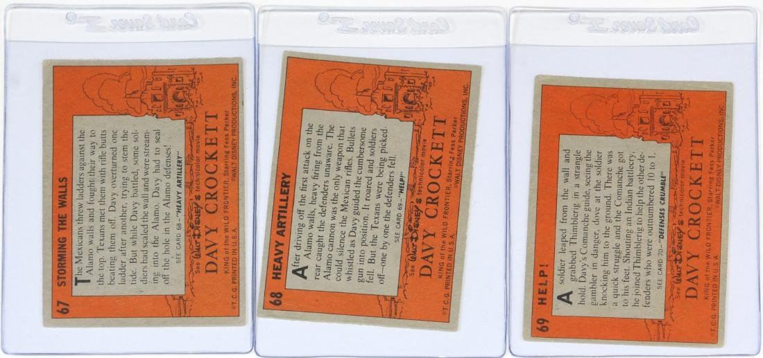 Complete Set Of 80 1956 Topps Davy Crockett - 6