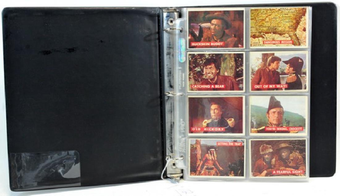 Complete Set Of 1956 Topps Davy Crockett Green
