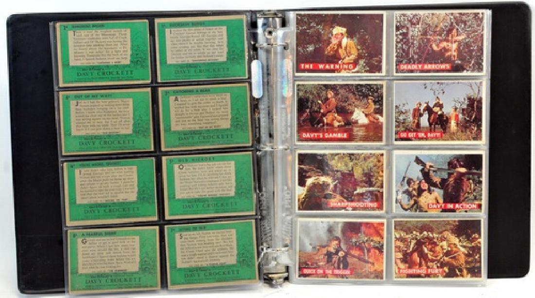 Complete Set Of 1956 Topps Davy Crockett Green - 2