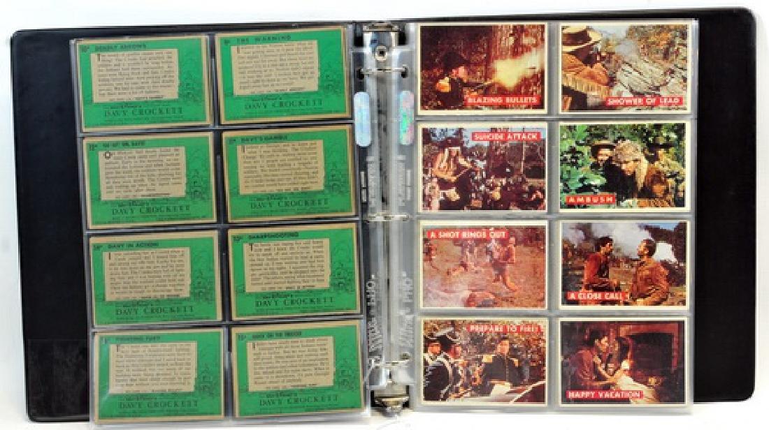 Complete Set Of 1956 Topps Davy Crockett Green - 3