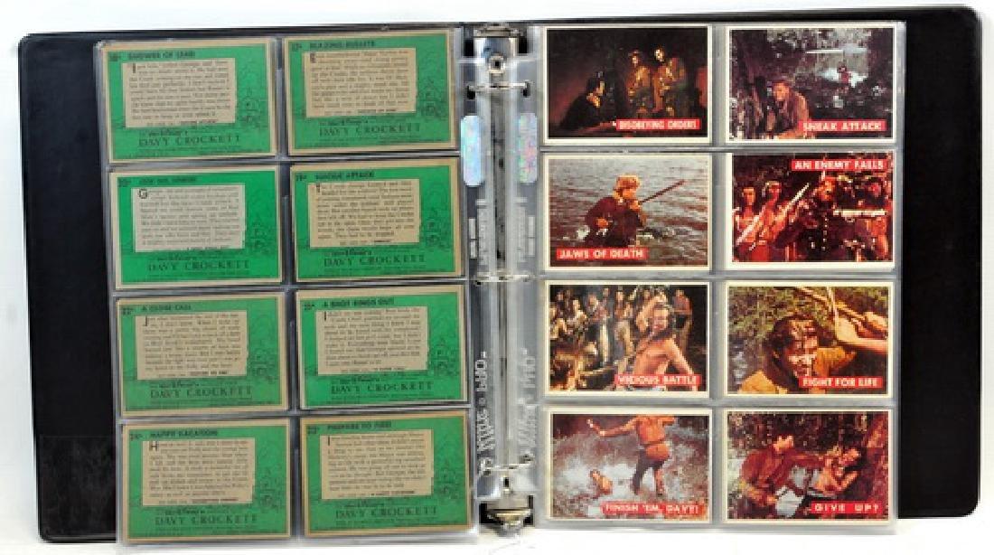 Complete Set Of 1956 Topps Davy Crockett Green - 4